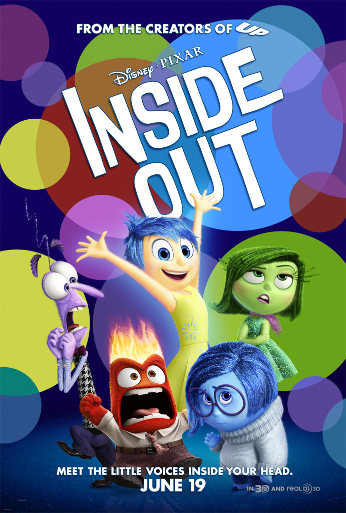 #PixarInsideOut Poster