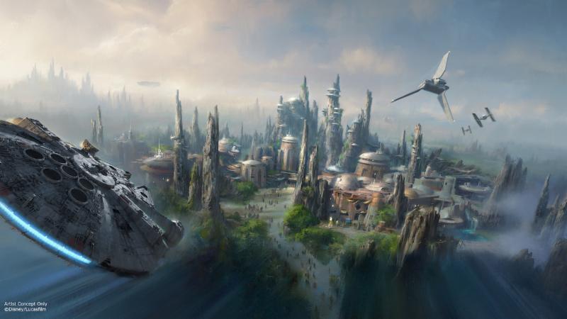 Galaxy's Edge Star Wars Disneyland Walt Disney World