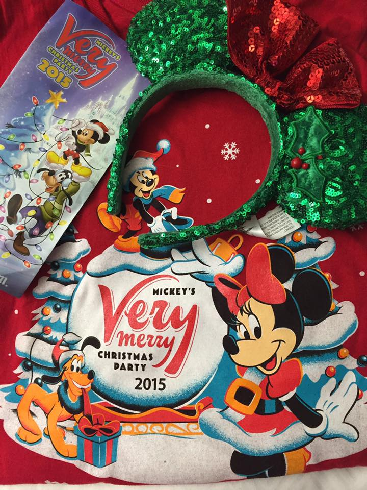 very merry christmas party 2015 - Mickey Mouse Christmas Party Decorations