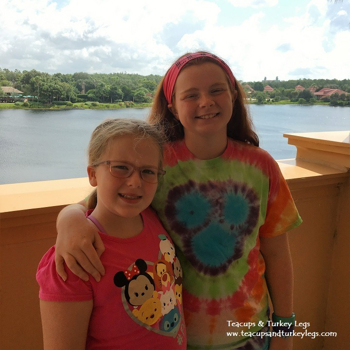 View from our room at Disney's Coronado Springs Resort