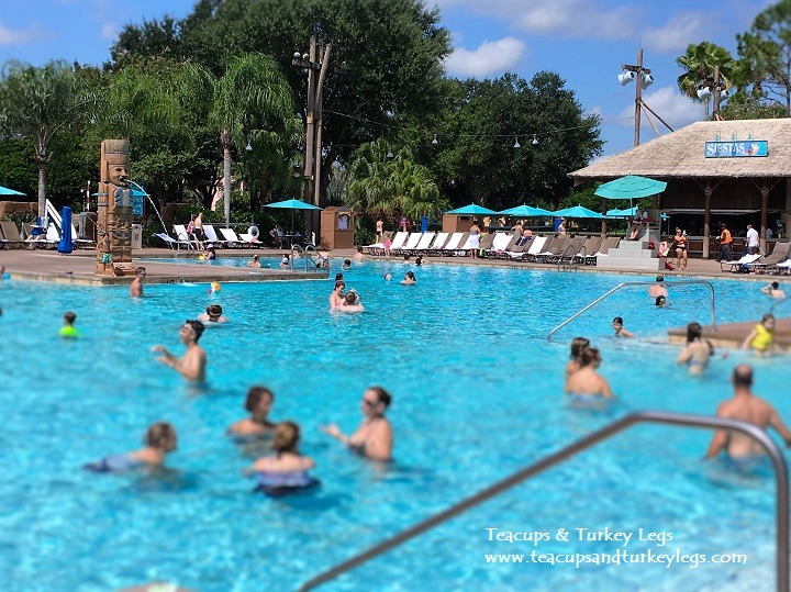 View of Lost City of Cibola Pool at Disney's Coronado Springs Resort