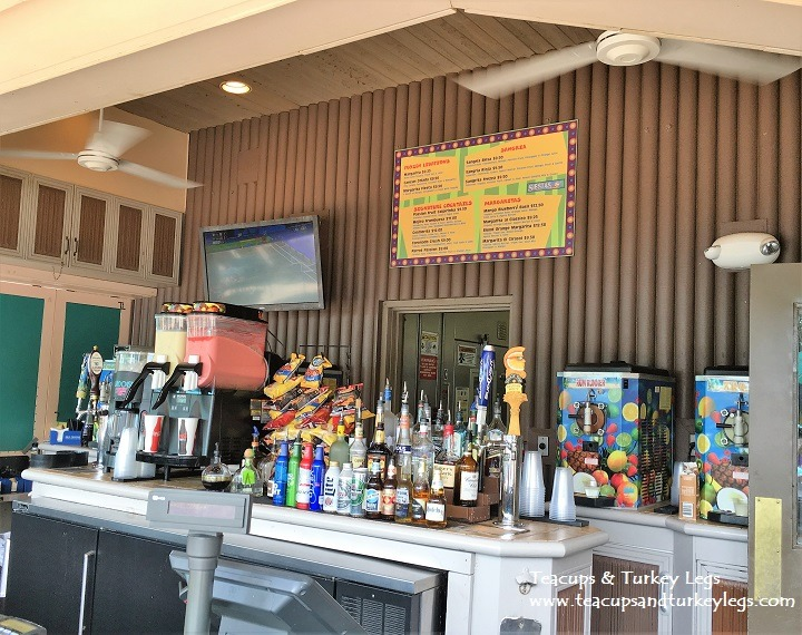 Bar at Siestas Cantina, Disney's Coronado Springs Resort
