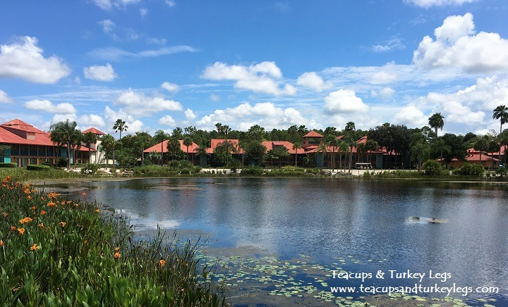 View of Cabanas at Disney's Coronado Springs Resort
