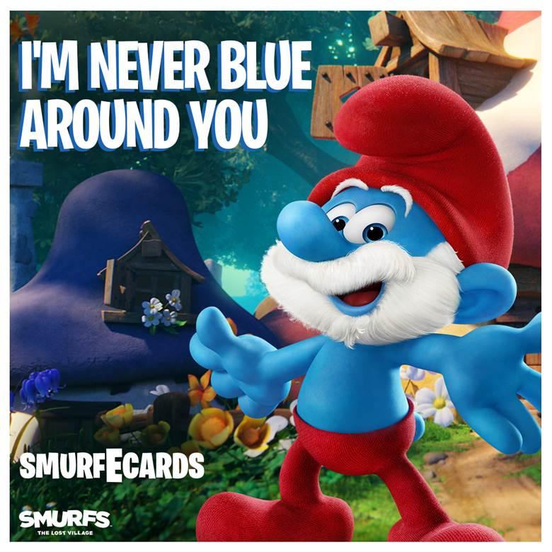 Smurf-Valentine