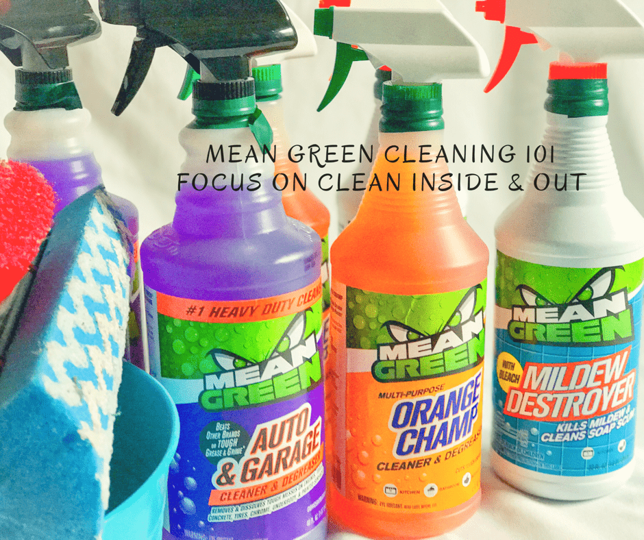Mean Green 101 cleaning