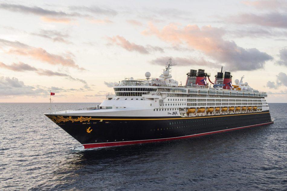 Disney Cruise Line The Disney Magic at Sea