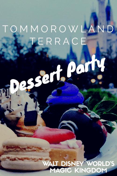 Tomorrowland Terrace Dessert Party-Walt Disney World Magic Kingdom