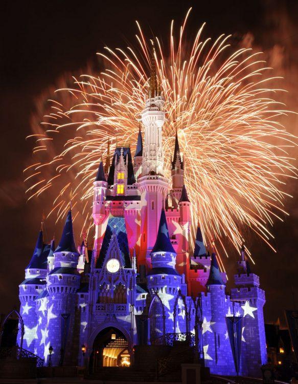 Fourth of July at Walt Disney World Resort FIreworks