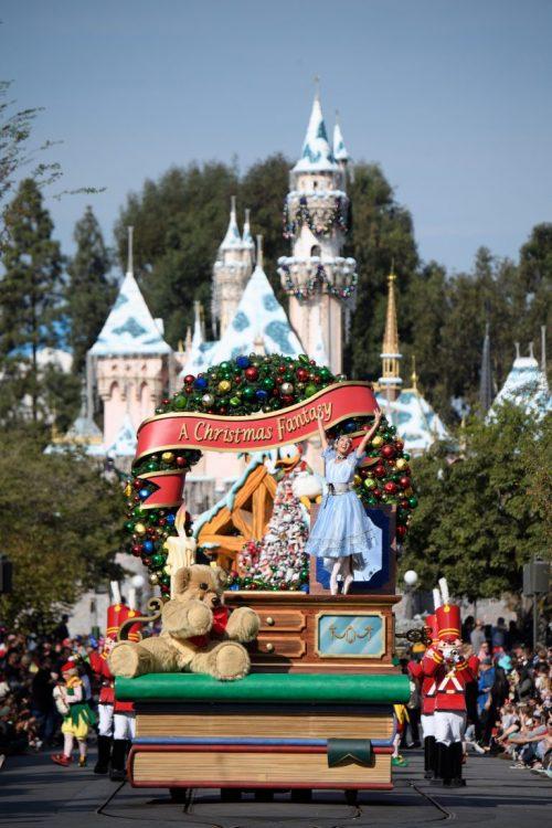 Disneyland Disney's California Adventure Park Christmas Festival of Holidays
