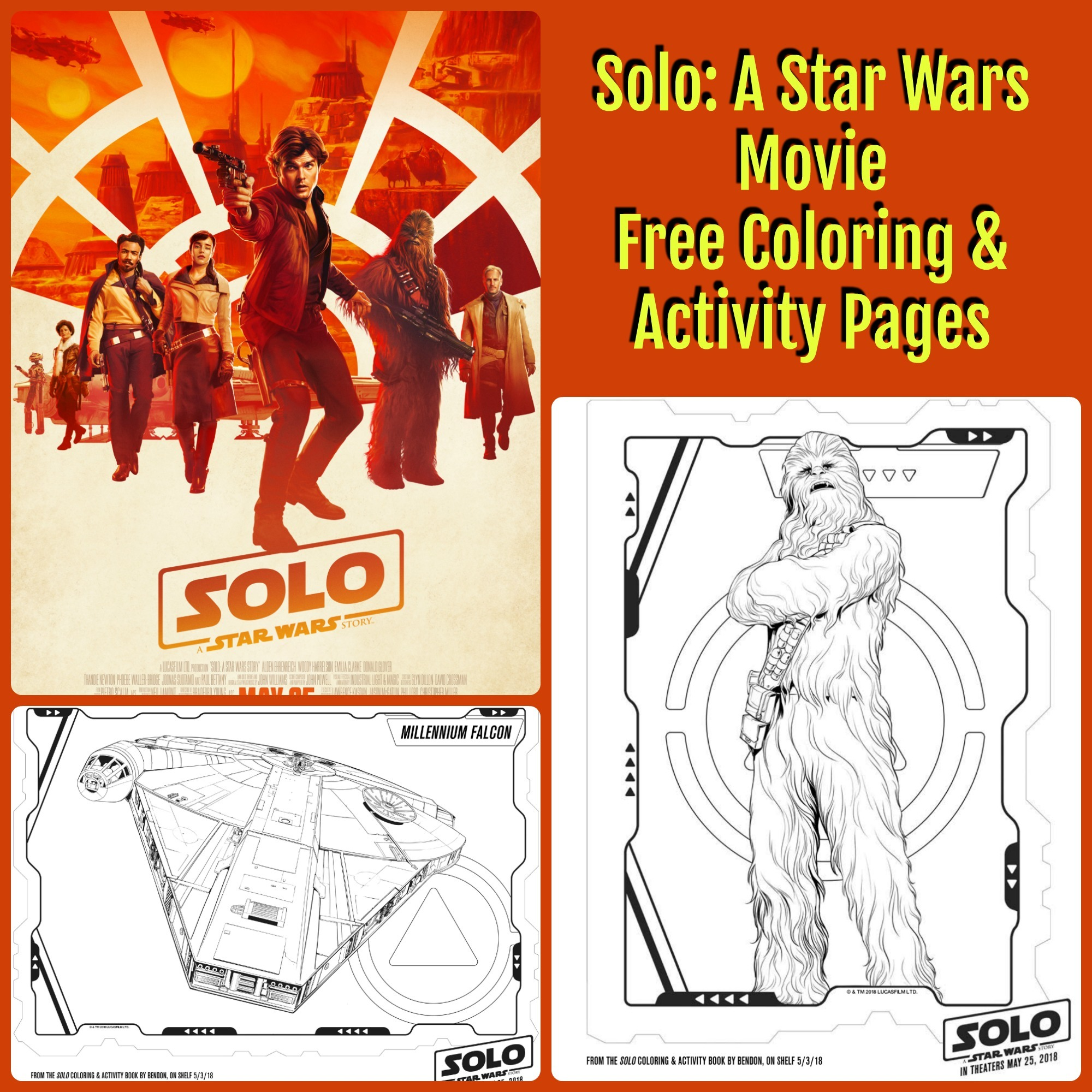 Solo A Star Wars Movie Coloring Pages