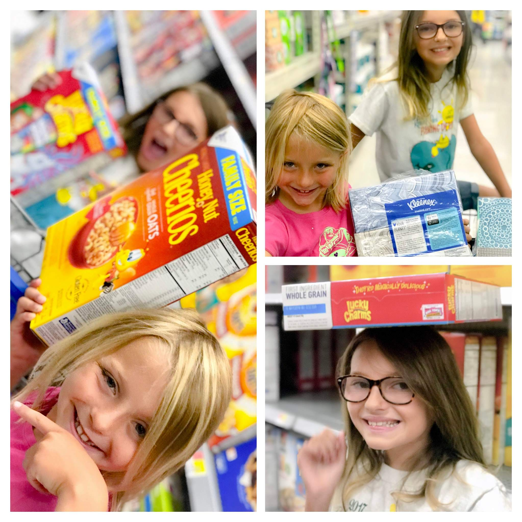 Back To School Shopping Walmart Boxtops 4 education