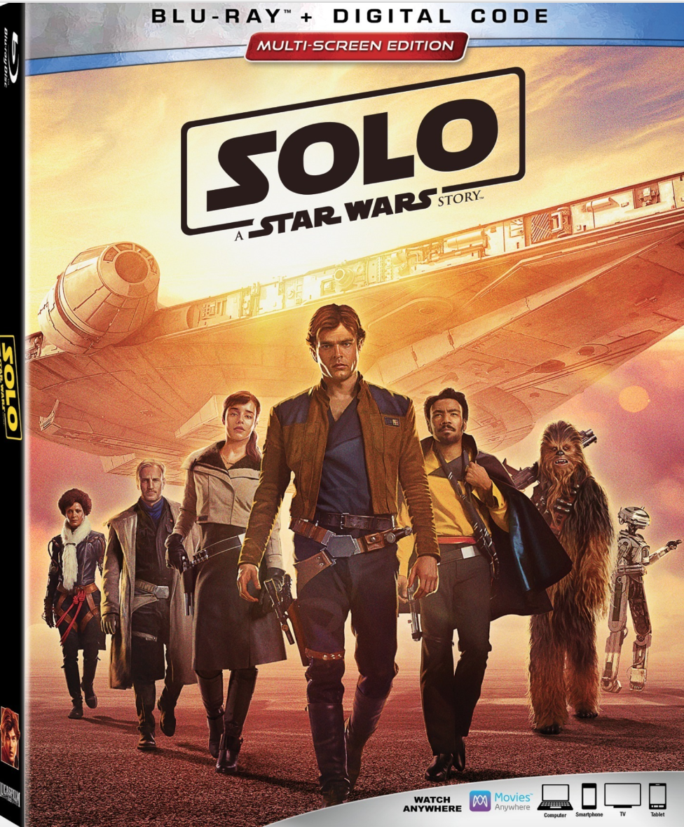 Solo- A Star Wars Story DVD