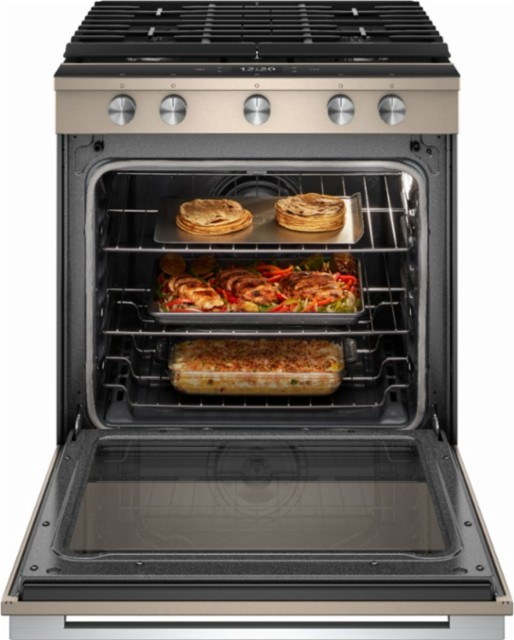 Best Buy Whirlpool Sunset Bronze Gas Convection Range