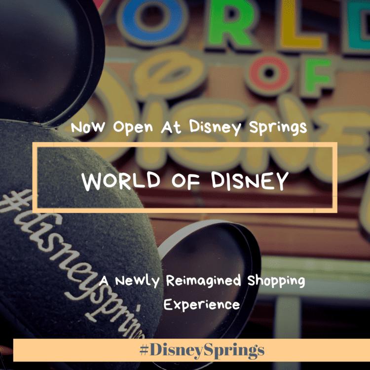 World of Disney Disney Springs Walt Disney World