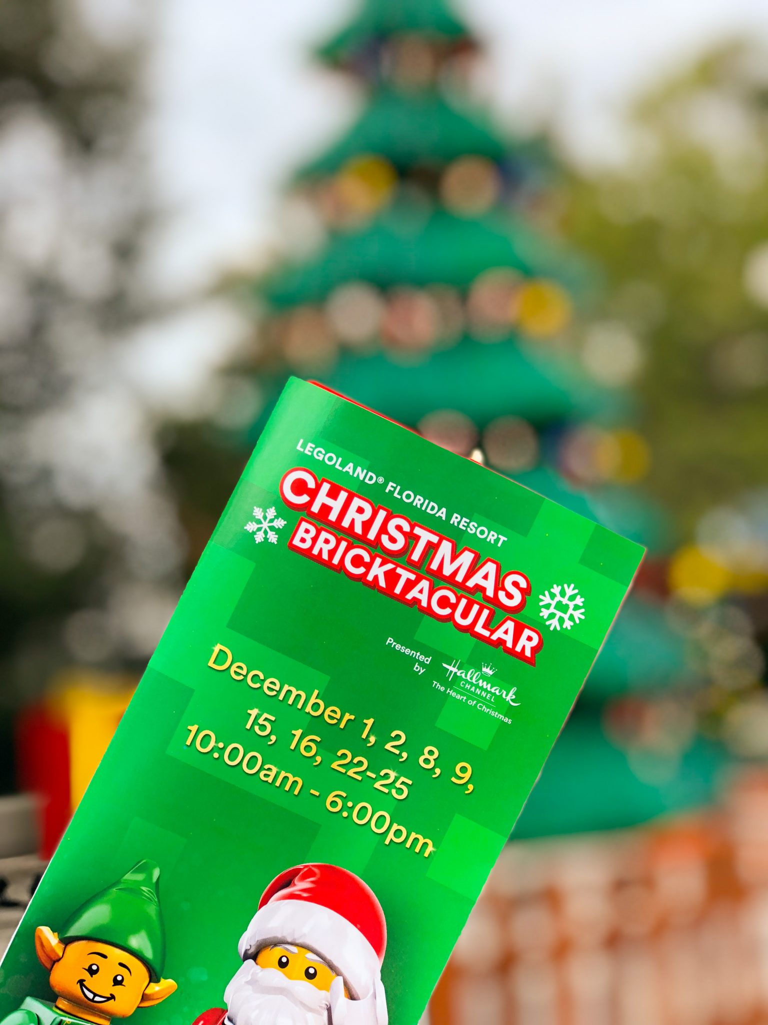 LEGOLAND Florida Christmas Bricktacular #BuiltForChildren