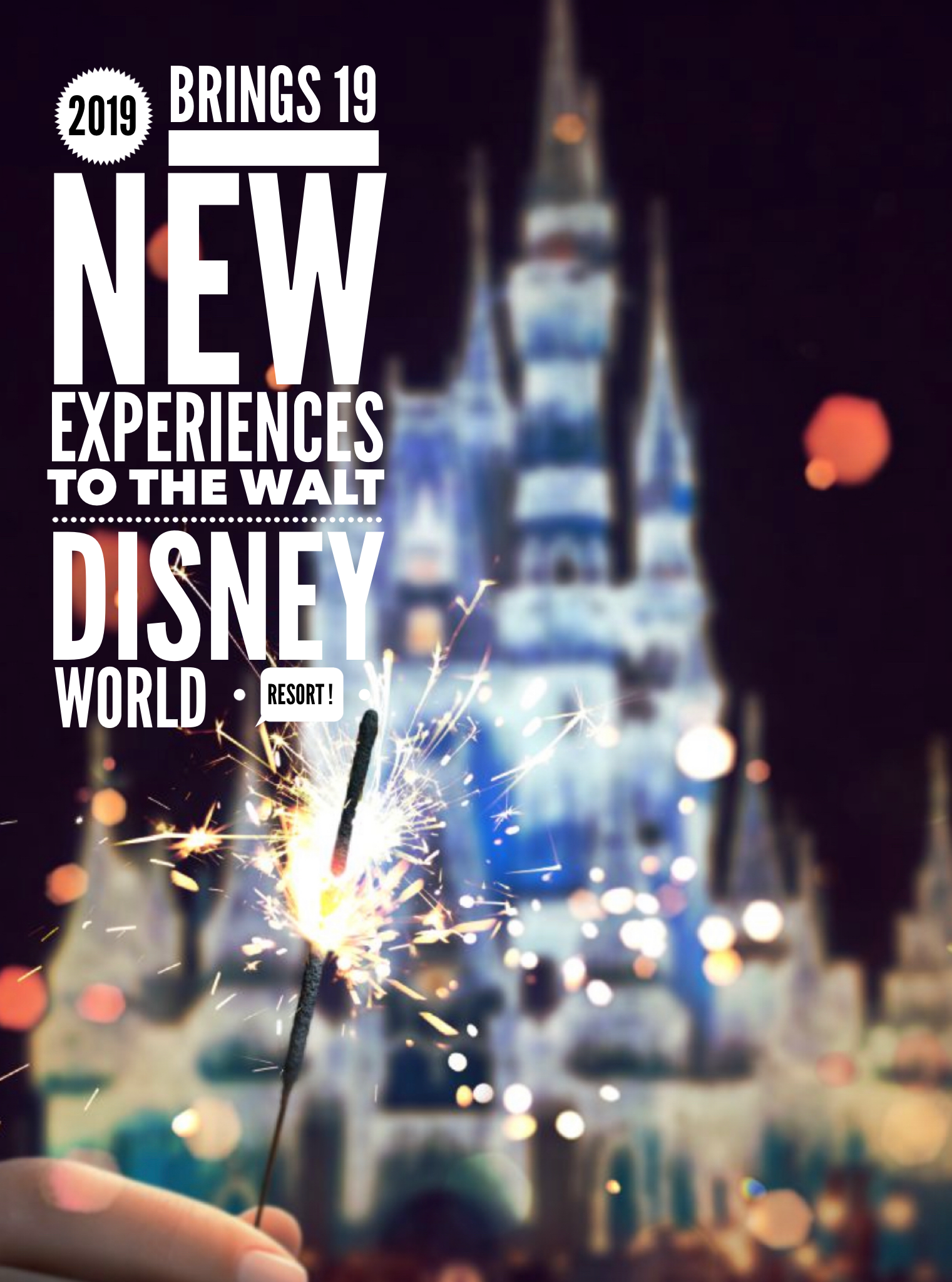 2019 Brings 19 New Experiences to the Walt Disney World Resort